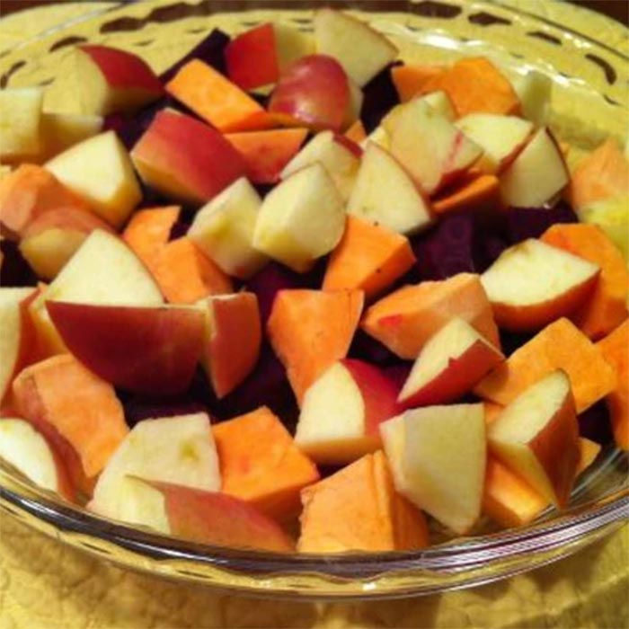 Beets, Apples & Sweet Potato