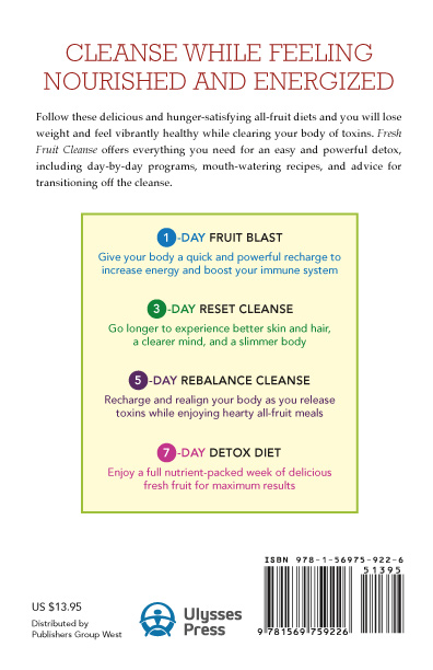 Fresh Fruit Cleanse - Back Cover