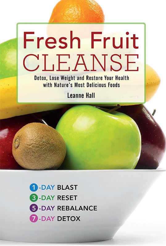 Fresh Fruit Cleanse by Leanne Hall, Book Cover